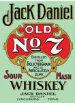 Jack Daniels Inspired Vintage Style Metal Wall Sign Plaque Art 15X20cm
